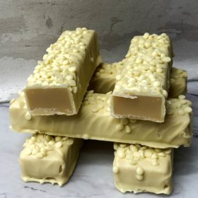 Death By White Chocolate Fudge
